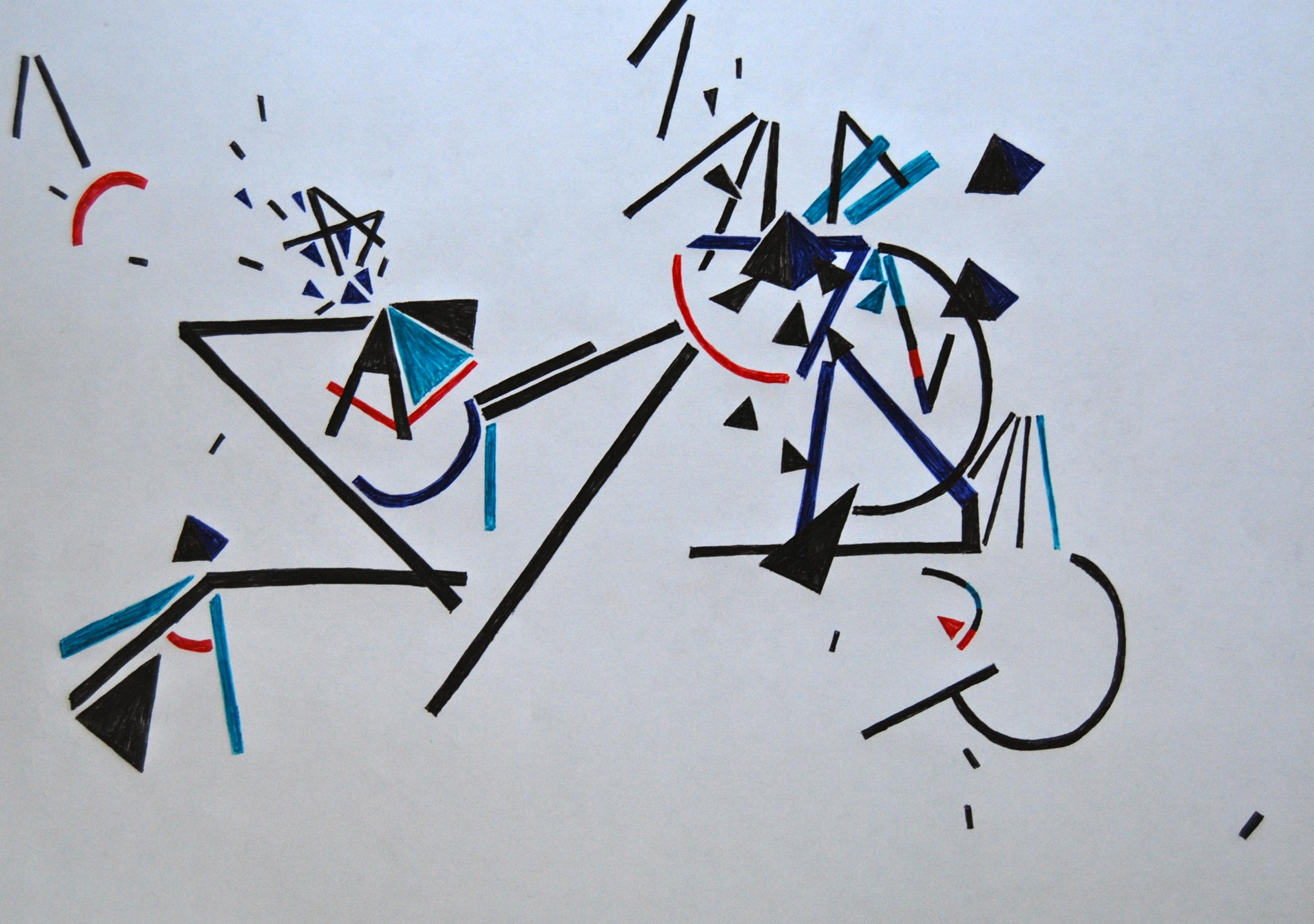 Zeichnungen Abstrakt